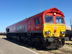 Photo of 66113 shown at Hoo Junction, 2nd August 2020.