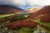 Rainbow, Crummock Water, Buttermere, Lake District, Cumbria, England