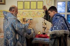 04/12/2020 - Архиерейское богослужение в день памяти Введения во храм Пресвятой Богородицы