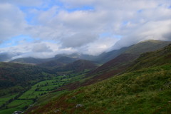 Photo of 20LAK159 Cloud over the head of the Troutbeck Valley, from the Garburn Road