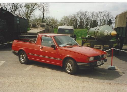 Giulietta pickup at Duxford 2001