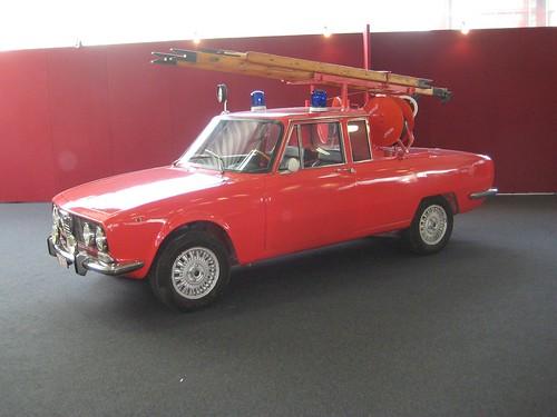 Monza Berlina Fire Tender