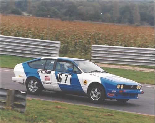 Andrew Bramah at Snetterton 2002