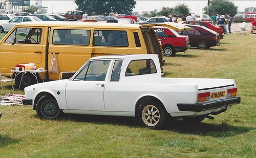 Another view of the Alfetta Pickup