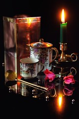 Coffee by Candlelight.