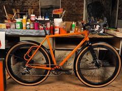 The secret of colors revealed #ccycles #gravelbike #bikepacking #framebuilding