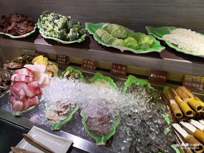 【台北大安】火龍島極品火鍋吃到飽|安格斯牛肉 三點蟹 海鮮 哈根達斯冰淇淋 @魚樂分享誌