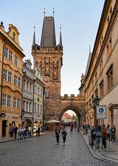 Prague: Lesser Town Bridge Tower