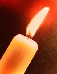 Festive Shabbat Candle
