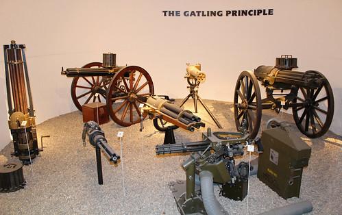 The Gatling Gun Principle