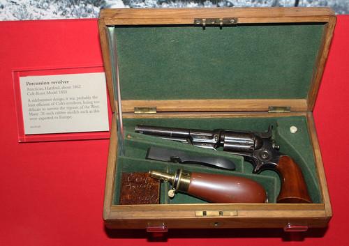 American Hartford Percussion Revolver 1862