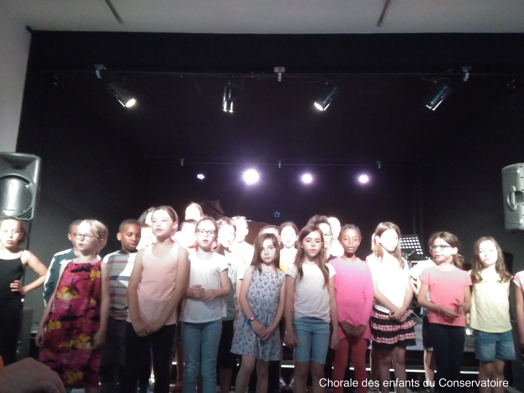 Chants des enfants du Conservatoire