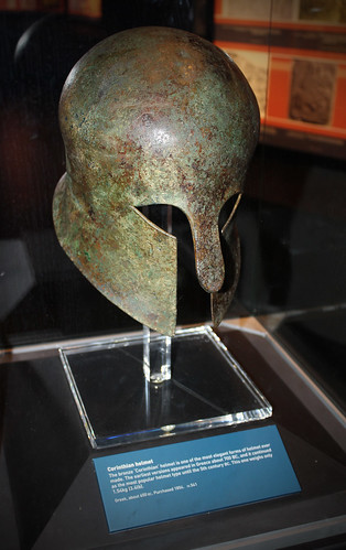 The Bronze Corinthean Helmet