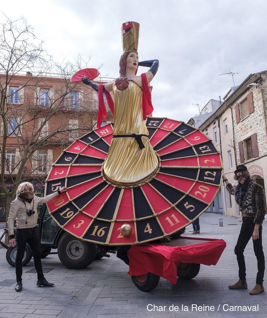Char de la Reine Carnaval 2020