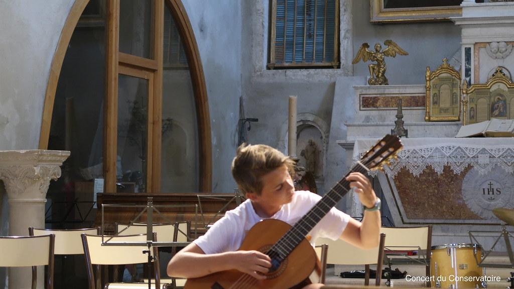 Concert des élèves du Conservatoire