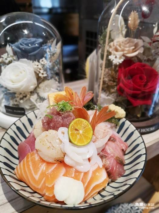 【台北大同】漁米島·海鮮丼專賣店|超可愛手毬壽司 @魚樂分享誌