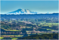 Ruapehu and Ngaruhoe from Stormy Point Lookout (2)