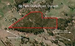 86 Fells Gully Road, Dunach VIC