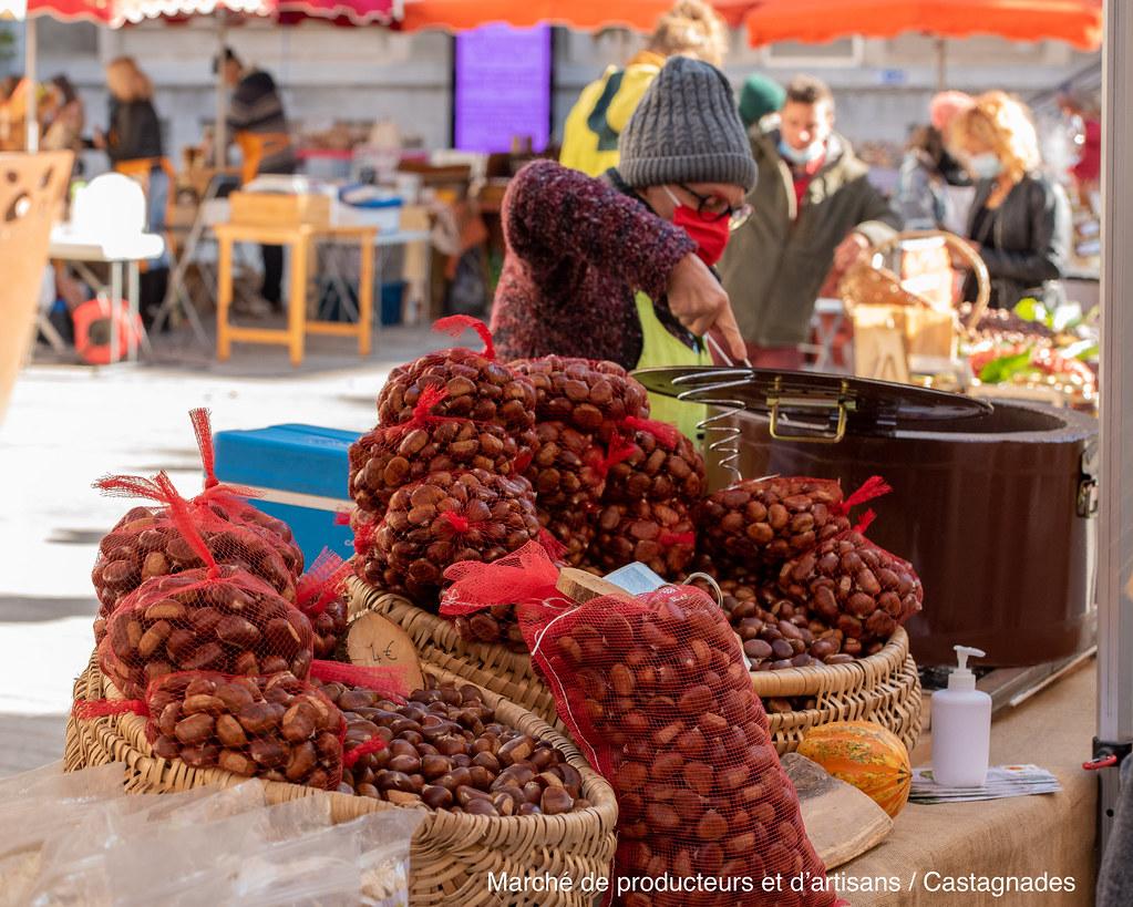 Marché de producteurs et d'artisans - Castagnades