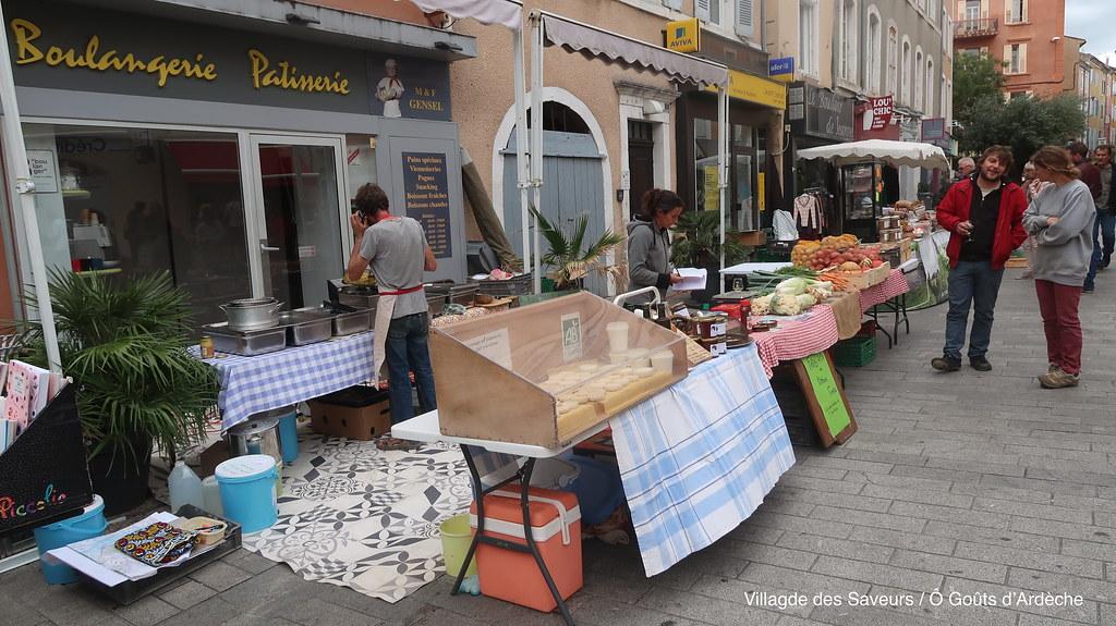 Village des Saveurs - Ô goûts d'Ardèche