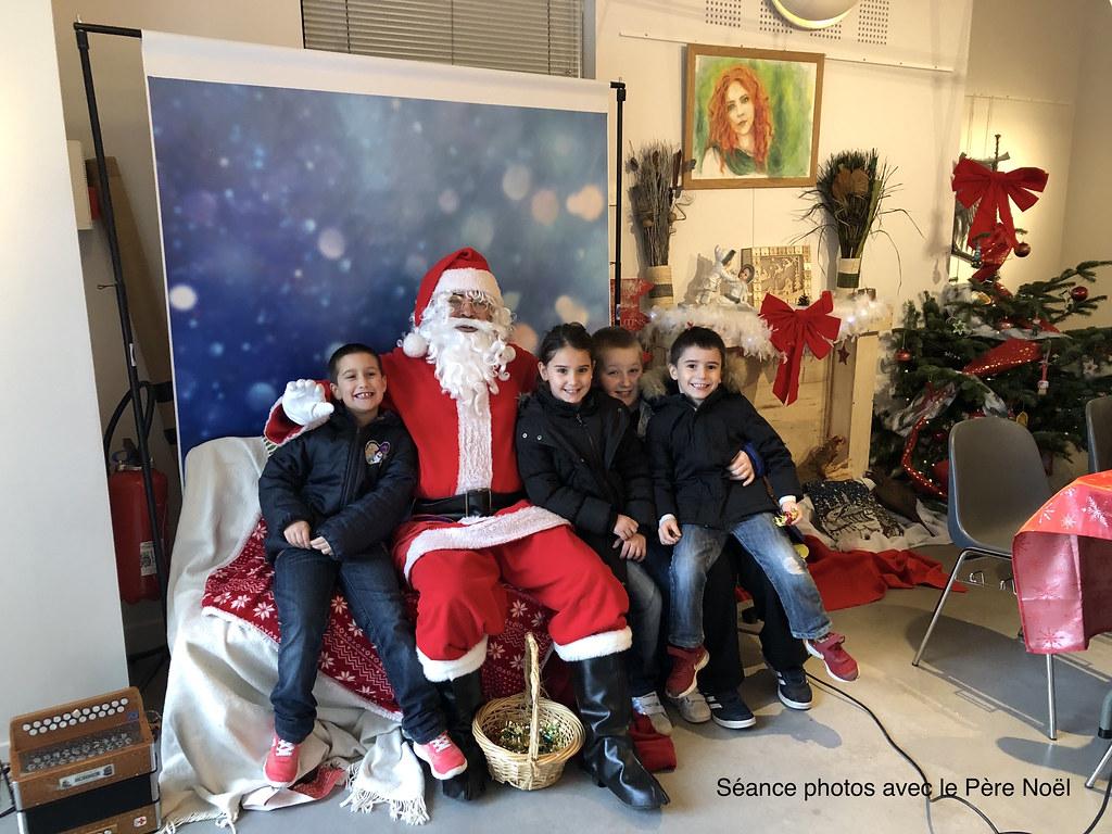 Le Père Noël aux Ateliers