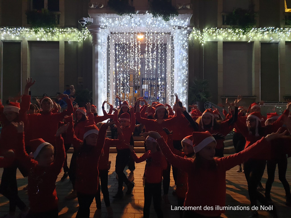 Résidanse du Lac - Lancement des illuminations de Noël