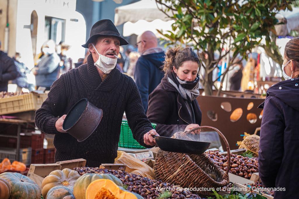 Marché de producteurs et d'artisans - Castagnades 2