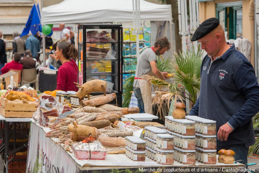 Marché de producteurs et d'artisans - Castagnades 4