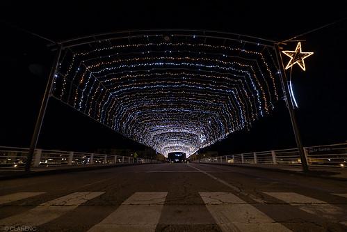 Christmas bridge - Alès France
