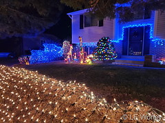 December 8, 2020 - Beautiful Christmas decorations in Thornton. (LE Worley)