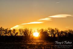 December 6, 2020 - Sunrise on the plains. (Tony's Takes)