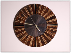 Segmented Wall Clock