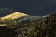 sunset in the Low Tatras (NP)
