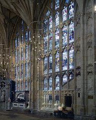 north wall, Lady Chapel, Gloucester Cathedral