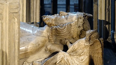 Effigy, tomb of Edward II, Gloucester Cathedral
