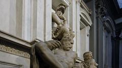 Michelangelo, Dusk, Tomb of Lorenzo di Piero de' Medici