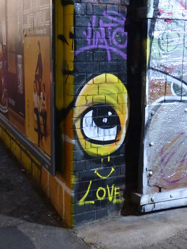 Vimto Eye Love - Custard Factory, Floodgate Street, Digbeth entrance