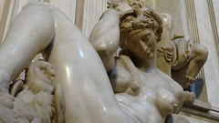 Michelangelo, Night, Tomb of Giuliano de' Medici