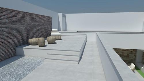 cambios zona piscina 1