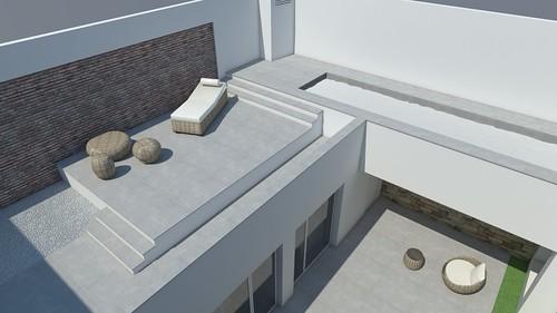 cambios zona piscina 2