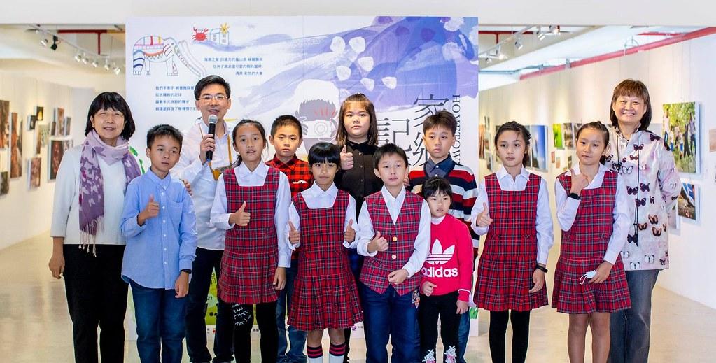 02_Canon再次合作公益平台文化基金會,以「家鄉記憶」為主軸,與屯山國小師生一同舉辦攝影聯展。
