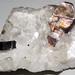 Phlogopite mica in marble (Franklin Marble, Mesoproterozoic, 1.03-1.08 Ga; Franklin, New Jersey, USA) 1