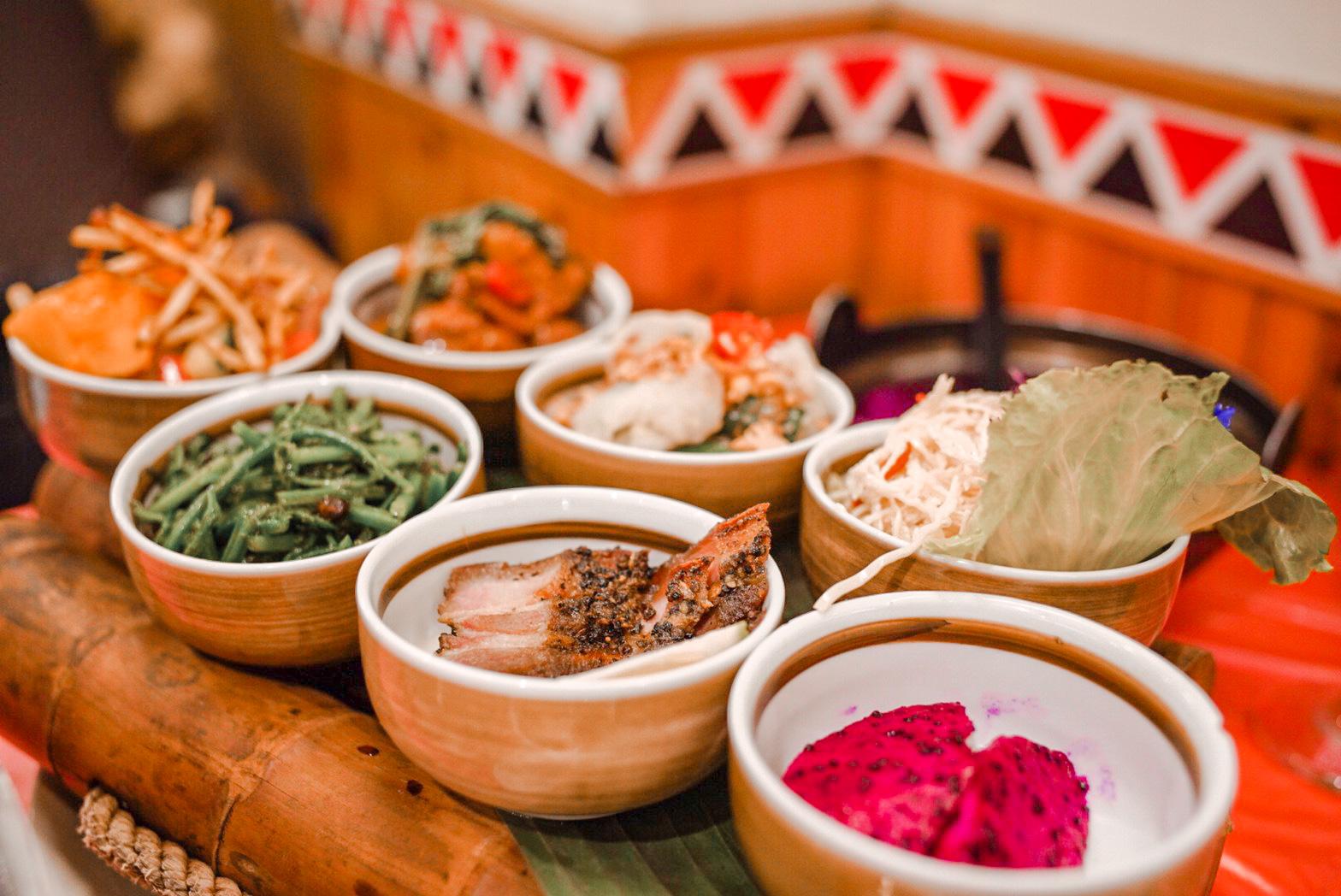 日月潭美食餐廳推薦|日月潭新山味邵族風味餐廳| 水社碼頭旁道地原住民料理