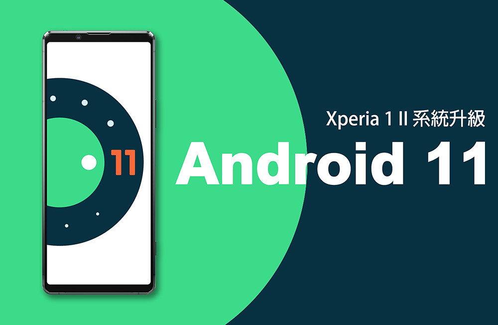圖說一、Sony-Mobile即日起正式開放Xperia-1-II全新Android-11系統升級