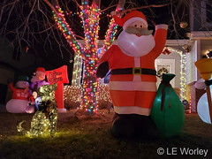 December 10, 2020 - Very cool Christmas decorations. (LE Worley)