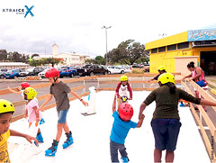 Synthetic ice rink in New Caledonia