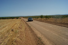 Gravel Road in Andalucia / Schotterpiste in Andalusien /