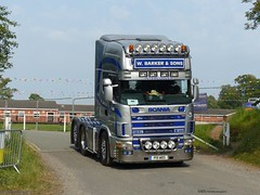 Photo of Scania 164L P19 WBS W Barker And Son Party On The Pitch