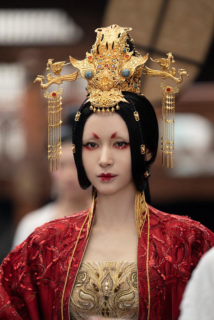 王子文在《陰陽師:晴雅集》飾演公主