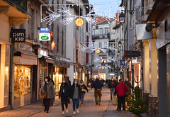 illuminations rue pietonne